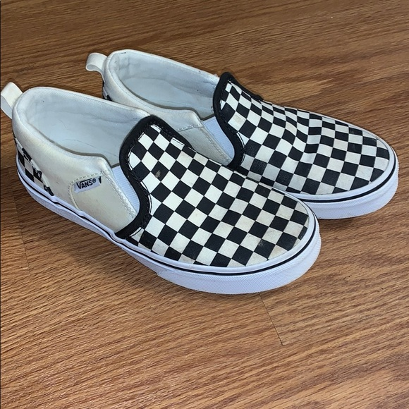 Vans Shoes   Youth Checkered Vans